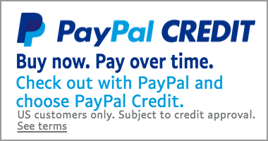 PayPal Credit. Buy Now. Pay Over Time.